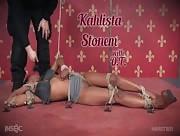 Small, Sexy Submissive In Tough Position Bondage